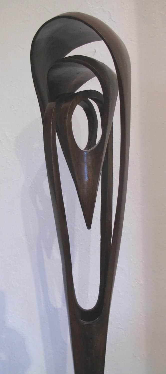 moulin rouge-BRONZE-with--TEAL--PATINA[,Free-standing,bronze-outdoor]blazeski-australian-abstract-sculpture