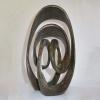 milky way-BRONZE-with--TEAL--PATINA[,Free-standing,bronze-outdoor]blazeski-australian-abstract-sculpture