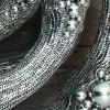 stainless steel sphere garden sculpture