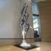 stainless steel, interior sculpture