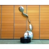 stainless steel, interior sculpture