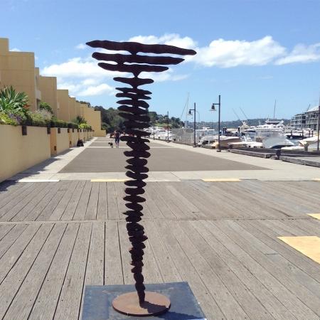 Mentor-the-old-mob-220x100cm--CORTEN-[outdoor,-landmark,corten]Greg-John-Australian-garden-sculpture-large-abstract-art
