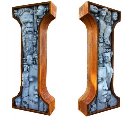 """The """"I"""" Sculpture"""