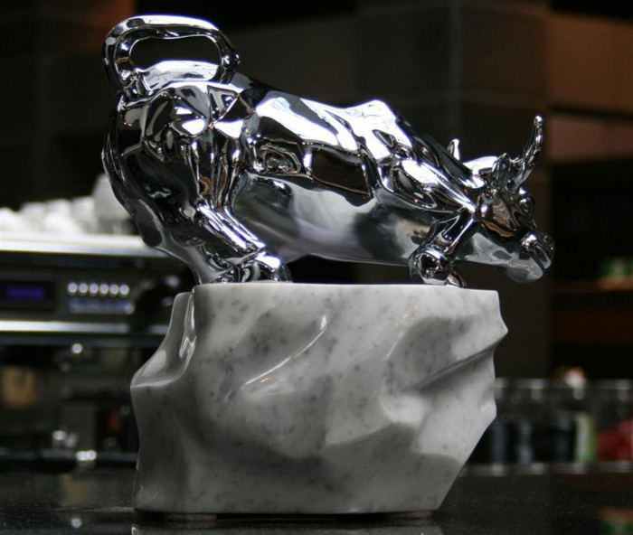 Raging Bull (Small Chrome)
