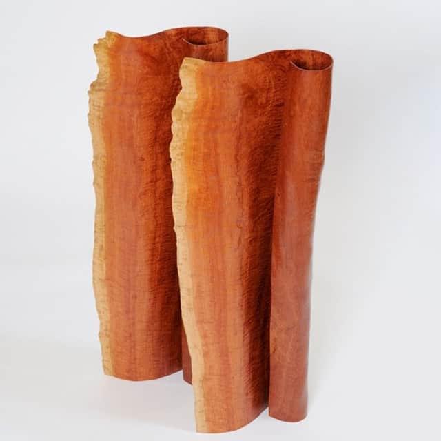 timber sculpture interior wood art
