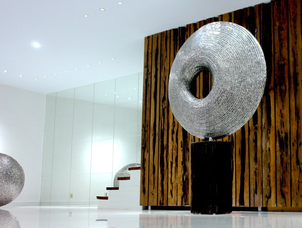 stainless steel australian sculpture