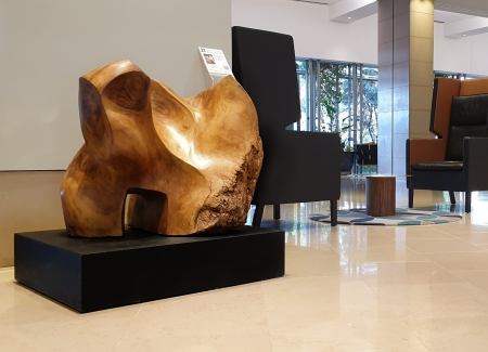 remembering the forests, timber sculpture
