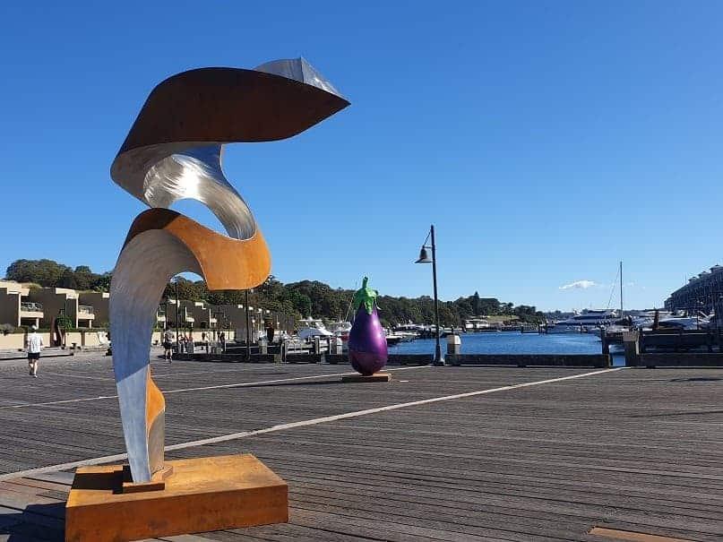 large scale exterior sculpture - australian sculpture