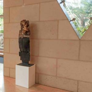 glassborow, sculpture bust