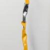 yellow totem sculpture