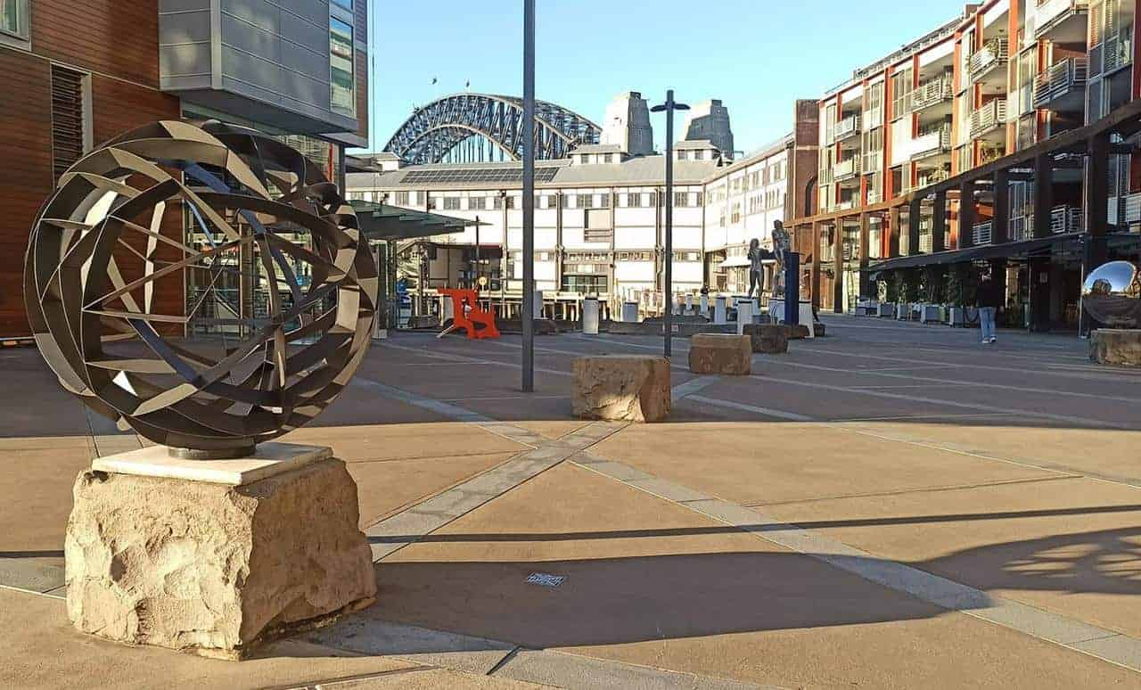 walsh bay sculpture walk sydney exhibition
