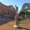 poets-scoundrels bronze totem sculpture in sydney