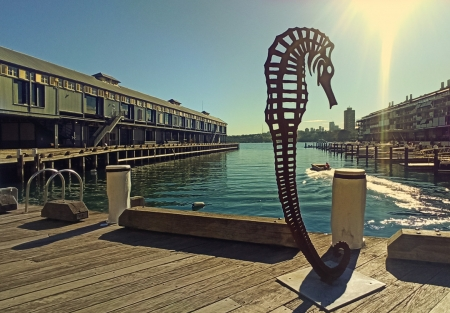 seamare-metal-sculpture_Walsh-bay-sculpture-walk
