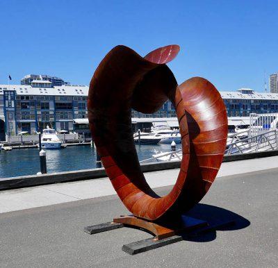 JT Untitled 201x200x120cm at wharf