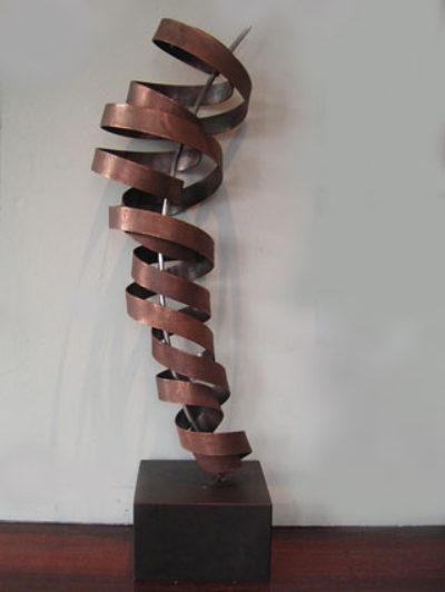 Copper Spiral 1